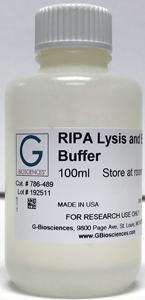 Why RIPA is for More Than Just Radioimmunoprecipitation Assays