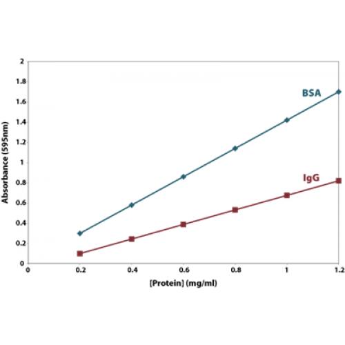 CB Protein Assay Graph